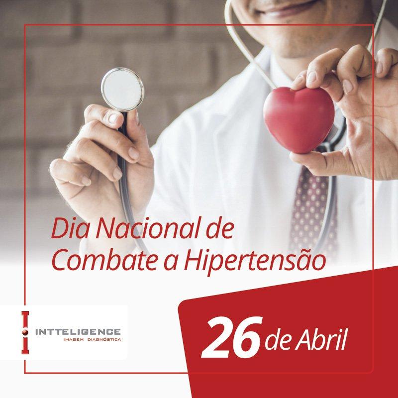 Dia Nacional de Combate a Hipertensão Arterial - 26 de abril